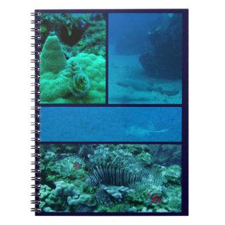 カリブのな水中世界のノート ノートブック