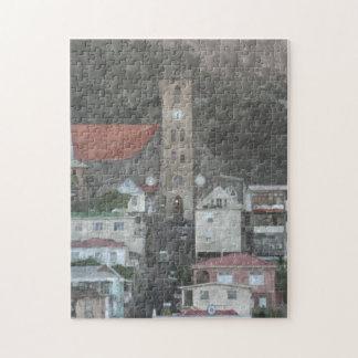 カリブのな都市 ジグソーパズル