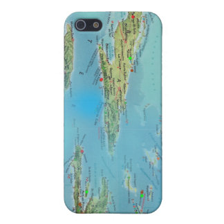 カリブのなMapology iPhone SE/5/5sケース