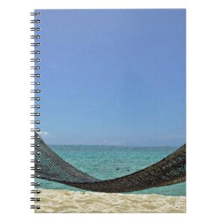 カリブのビーチ ノートブック