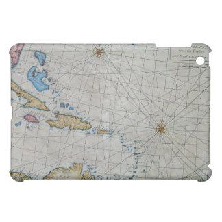 カリブのヴィンテージの航海のな図表 iPad MINI カバー