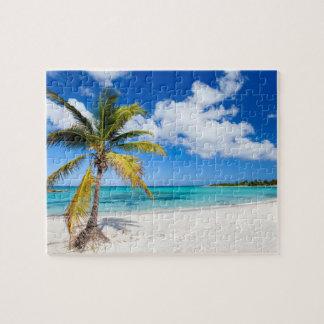 カリブの美しいビーチ ジグソーパズル