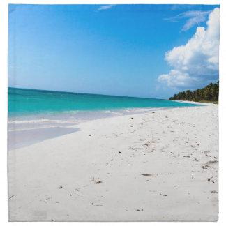 カリブのIsla Saonaのビーチ ナプキンクロス