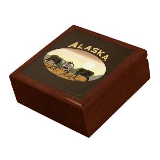 カリブーの決闘-アラスカ ギフトボックス