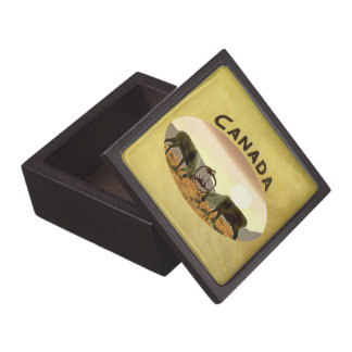 カリブーの決闘-カナダ ギフトボックス