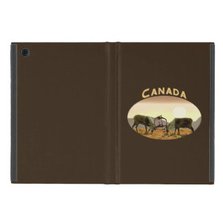 カリブーの決闘-カナダ iPad MINI ケース