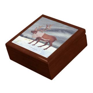 カリブーの雪の芸術 ギフトボックス