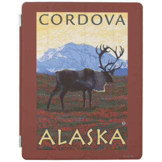 カリブー場面- Cordova、アラスカ iPadスマートカバー