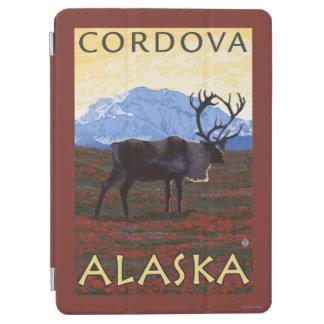 カリブー場面- Cordova、アラスカ iPad Air カバー