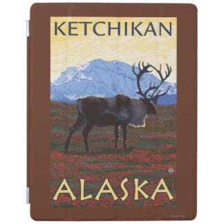 カリブー場面- Ketchikan、アラスカ iPadスマートカバー
