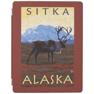 カリブー場面- Sitka、アラスカ iPadスマートカバー