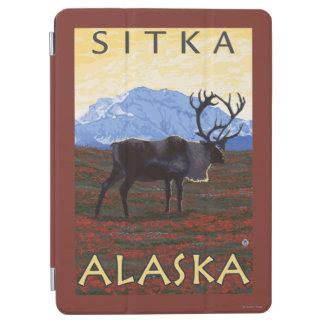 カリブー場面- Sitka、アラスカ iPad Air カバー