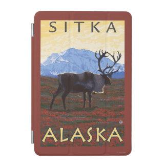 カリブー場面- Sitka、アラスカ iPad Miniカバー