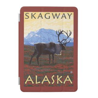 カリブー場面- Skagway、アラスカ iPad Miniカバー