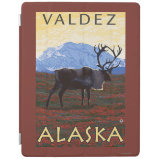 カリブー場面- Valdez、アラスカ iPadスマートカバー