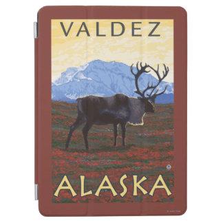 カリブー場面- Valdez、アラスカ iPad Air カバー
