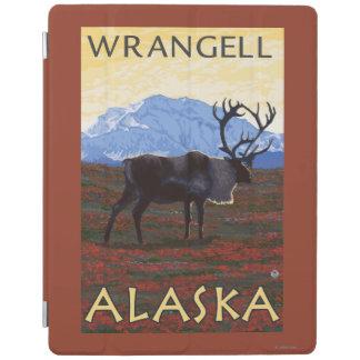カリブー場面- Wrangell、アラスカ iPadスマートカバー