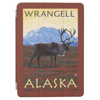 カリブー場面- Wrangell、アラスカ iPad Air カバー