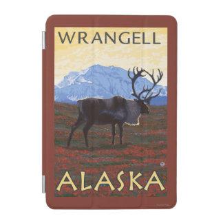 カリブー場面- Wrangell、アラスカ iPad Miniカバー