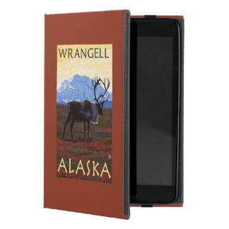 カリブー場面- Wrangell、アラスカ iPad Mini ケース