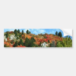 カリブーTargheeの国有林 バンパーステッカー