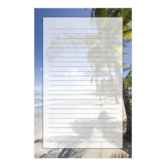 カリブ-トリニダード- Manzanillaのビーチ 便箋