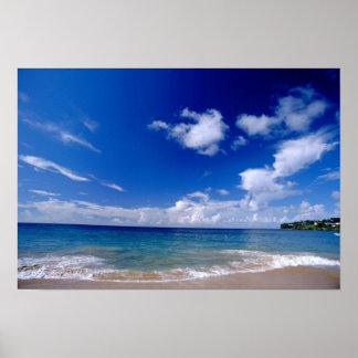 カリブ、小アンティル諸島、西インド諸島、 ポスター