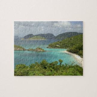 カリブ、米国バージン諸島、聖ヨハネのトランク ジグソーパズル