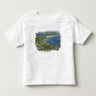 カリブ、西インド諸島、セントルシア。 眺めの トドラーTシャツ