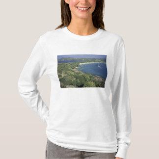 カリブ、西インド諸島、セントルシア。 眺めの Tシャツ