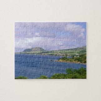 カリブ、St. Kitts、ロゾー。 海岸 ジグソーパズル