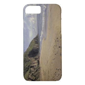 カリブ、St. Kitts。 大西洋の足跡 iPhone 8/7ケース