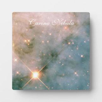 カリーナの明るい星雲 フォトプラーク