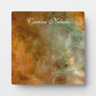 カリーナの星雲の大理石の一見NASA フォトプラーク