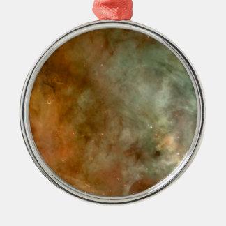 カリーナの星雲の大理石の一見NASA メタルオーナメント