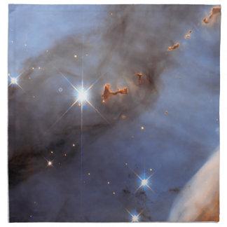カリーナの星雲の小さいセクション ナプキンクロス