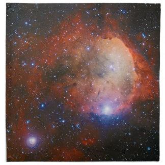 カリーナの星雲の星団NGC 3324を開けて下さい ナプキンクロス
