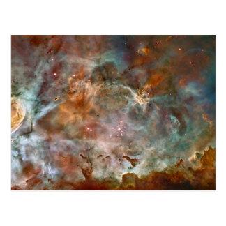 カリーナの星雲の暗闇の雲 ポストカード