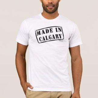 カルガリーで作られる Tシャツ