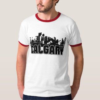 カルガリーのスカイライン Tシャツ