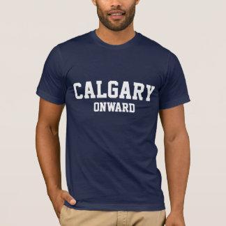 カルガリーアルバータカナダ Tシャツ