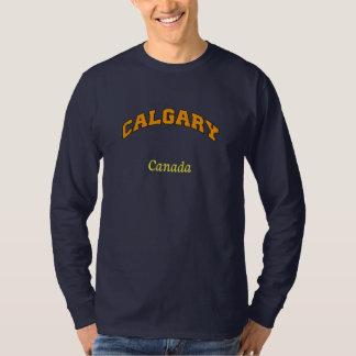 カルガリーカナダのスエットシャツ Tシャツ