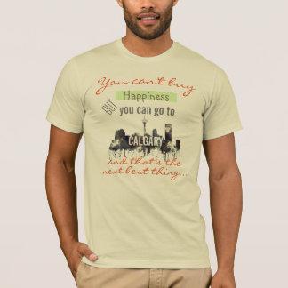 カルガリー、アルバータ、カナダのスカイライン- T'shirt Tシャツ