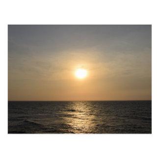 カルタヘナの日没 ポストカード