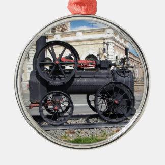 カルタヘナの早い蒸気機関車 メタルオーナメント