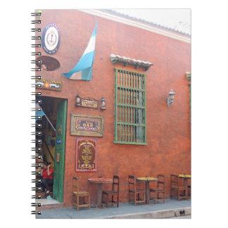 カルタヘナコロンビアのアルゼンチンのグリル ノートブック