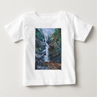 カルナータカ州インドからの滝 ベビーTシャツ