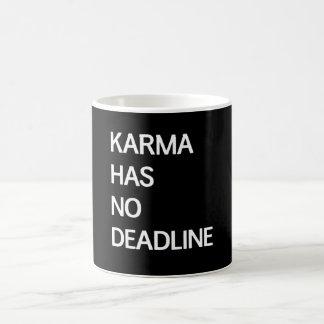 カルマに締切がありません コーヒーマグカップ