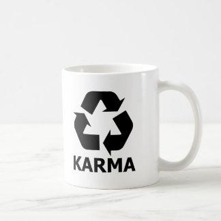 カルマのリサイクル コーヒーマグカップ