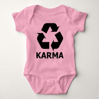 カルマのリサイクル ベビーボディスーツ